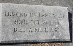 Edmond Dallas Taylor
