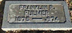 "Franklin Rice ""Frank"" Fulmer"