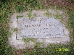 Leonard J Haas