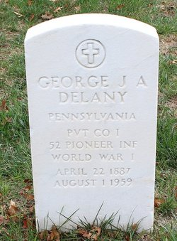 George J A Delany