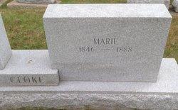 Marie <I>Croxen</I> Cloke