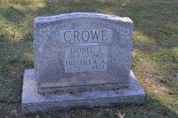 """Druzilla A """"Rosetta"""" <I>Adair</I> Crowe"""