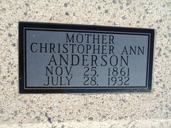 Christopher Ann <I>Davis</I> Anderson