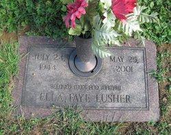 Ella Faye <I>Easthom</I> Lusher