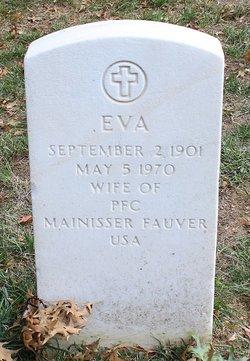 Eva <I>Anderson</I> Fauver