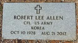 """Robert Lee """"Bobo"""" Allen"""