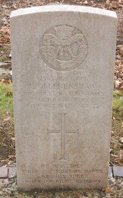 Lance Corporal Frank Ollerenshaw