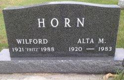 Alta Marie <I>Harms</I> Horn