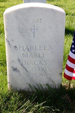Sharleen Mable <I>Dahlman</I> Dircks