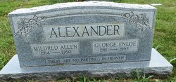 George Enloe Alexander