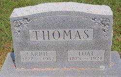 Mrs Carrie May <I>Thomas</I> Black