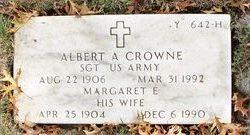 Albert A Crowne