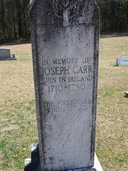 Joseph Carr (1710-1780) - Find A Grave Memorial