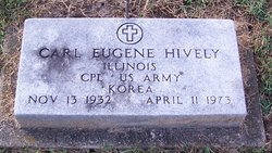 """Carl Eugene """"Gene"""" Hively"""