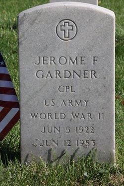 Jerome F Gardner