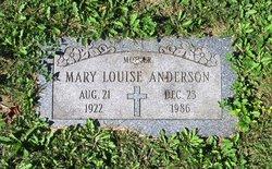 Mary Louise <I>Sullivan</I> Anderson