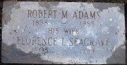 Robert Malcome Adams