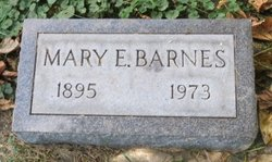 Mary E Barnes