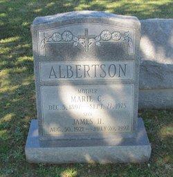 Marie C <I>Bonney</I> Albertson