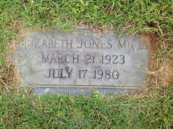 Elizabeth Jones Mills