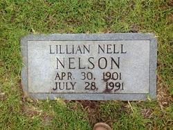 """Lillian Gaynelle """"Nell"""" <I>Payne</I> Nelson"""