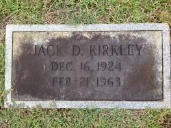 Jack D Kirkley