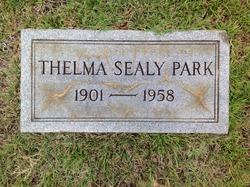 Thelma <I>Sealy</I> Park