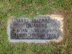 Mary Elizabeth Quarles