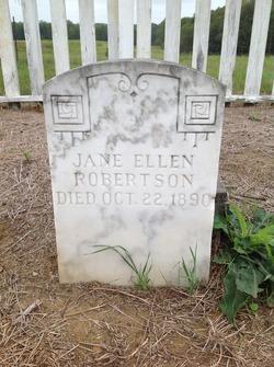 Jane Ellen Robertson