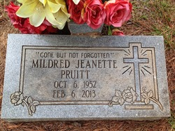 Mildred Jeanette Pruitt
