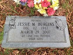 Jessie M Burgins
