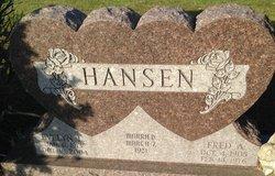 Fred A. Hansen