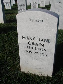 "Mary Jane ""Connie"" <I>Connet</I> Crain"