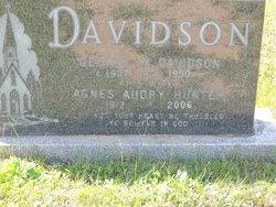 Agnes Audrey <I>Hunter</I> Davidson