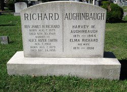 "Gulielma ""Elma"" <I>Richard</I> Aughinbaugh"