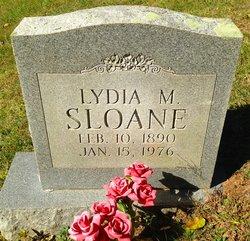 Lydia Margaret <I>Green</I> Sloane