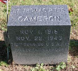 2LT Thomas Pitts Cameron