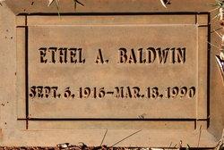 Ethel Alice <I>Cloutier</I> Baldwin