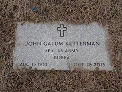 John Galum Ketterman