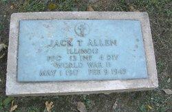 PFC Jack T. Allen