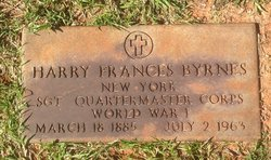 Sgt Harry Frances Byrnes