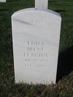 "Edna Irene ""Irene"" <I>Craig</I> Feagins"