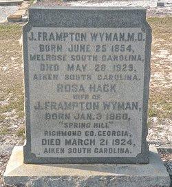 Dr Joel Frampton Wyman