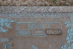 Rosie J Icke