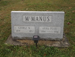 Anna Pearl <I>Pittman</I> McManus