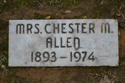Chester <I>Morgan</I> Allen