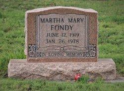 Martha Mary Fondy