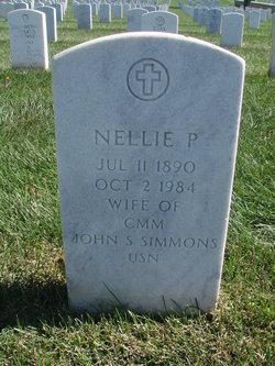 Nellie P Simons