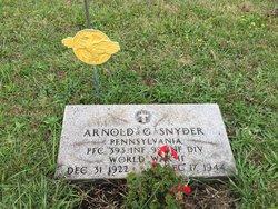 PFC Arnold George Snyder