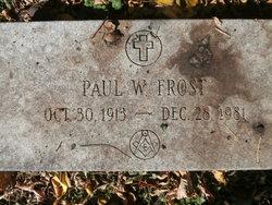 Paul William Frost